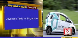 Driverless Taxis In Singapore