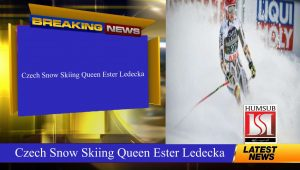 Czech Snow Skiing Queen Ester Ledecka