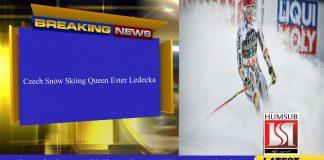 Czech Snow Skiing Queen Ester Ledecka