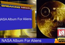 NASA Album For Aliens