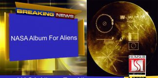 NASA Album For Aliens