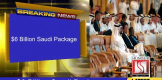 $6 Billion Saudi Package For Pakistan