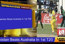 Pakistan Beats Australia In 1st T20