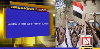 Pakistan To Help Cool Yemen Crisis
