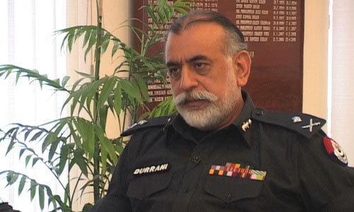 Nasir Durrani Punjab Police Reforms Commission Chief Resigned