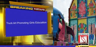 Truck Art Promoting Girls Education