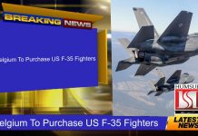 Belgium To Purchase US F-35 Fighters