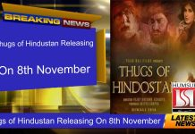 Thugs of Hindustan Releasing On 8th November