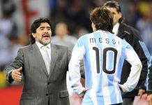 Maradona Not Happy With Lionel Messi