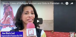 Saving Lives of Refugee women and Girls in Pakistan - Australian Government 26th Sep 2018 HumSub.Tv