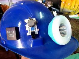 IoT Based Smart Helmet Is Made By Ali Gul In Balochistan To Protect Miners