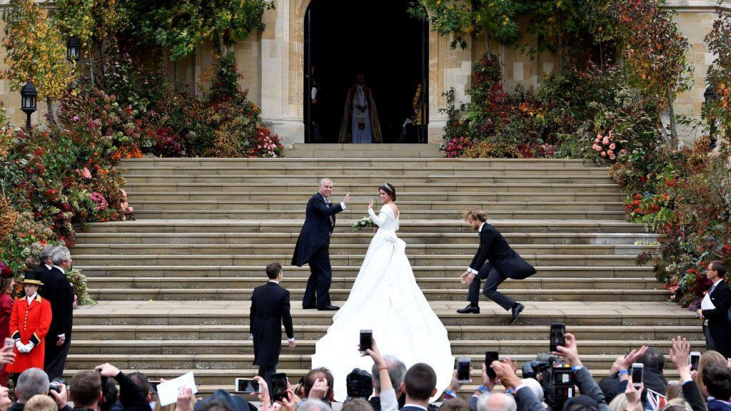 UK Princess Eugenie Weds Peter Pilotto