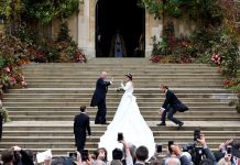 UK Princess Eugenie Weds Peter Pilotto